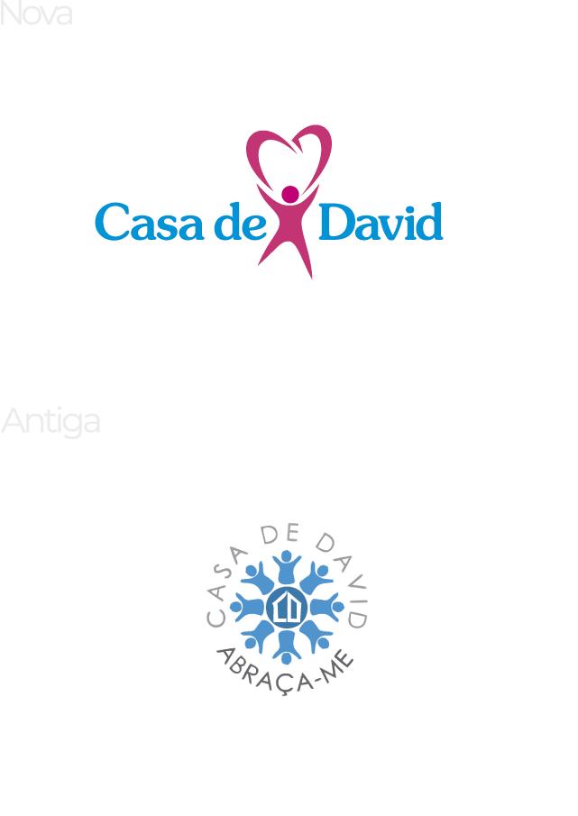 Casa de David | Reestilização de marca