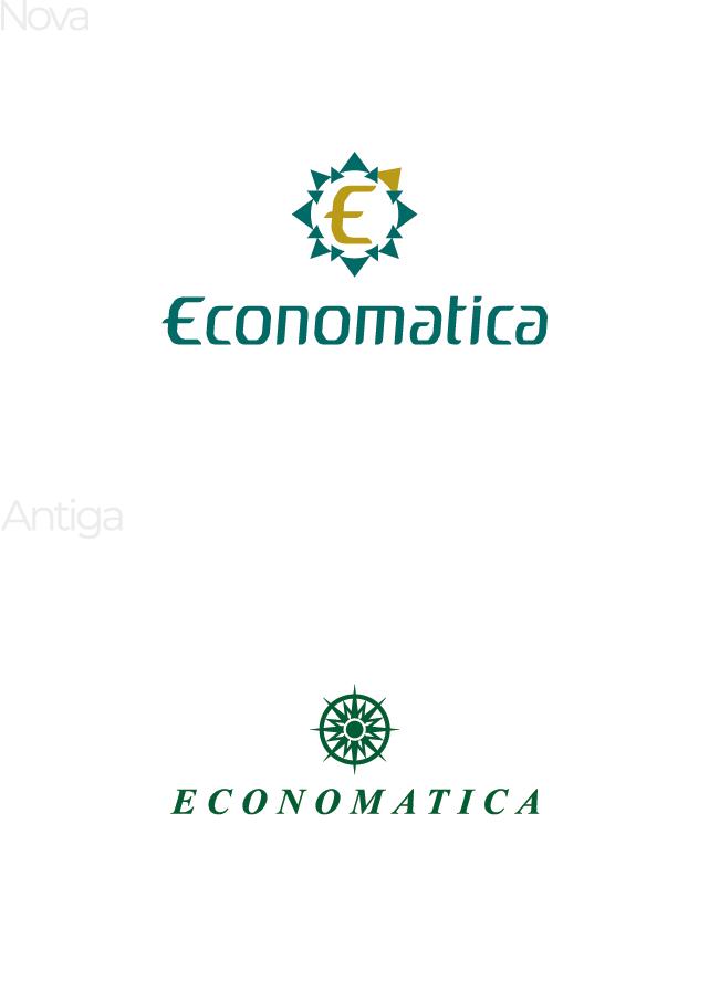 Economática | Reestilização de marca