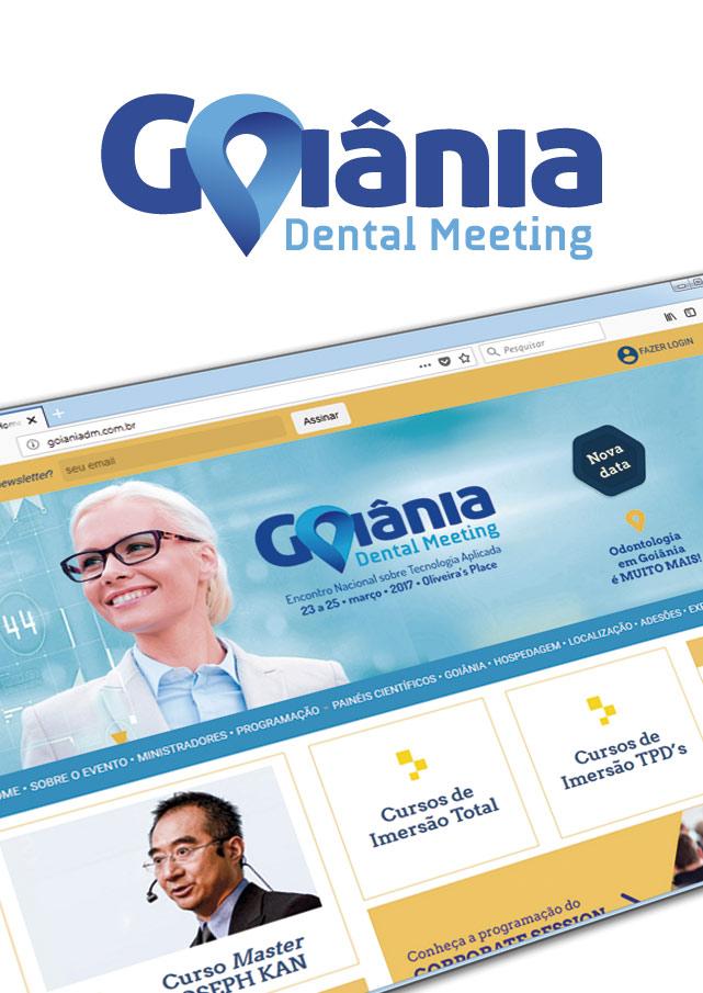 Goiania Dental Meeting | Marca e Identidade