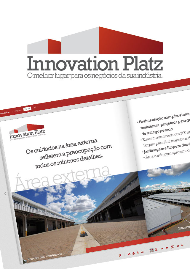 Innovation Platz | 'Naming', Marca e Identidade