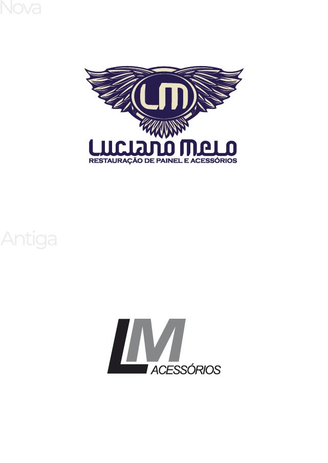 Luciano Melo Acessórios | Reestilização de marca
