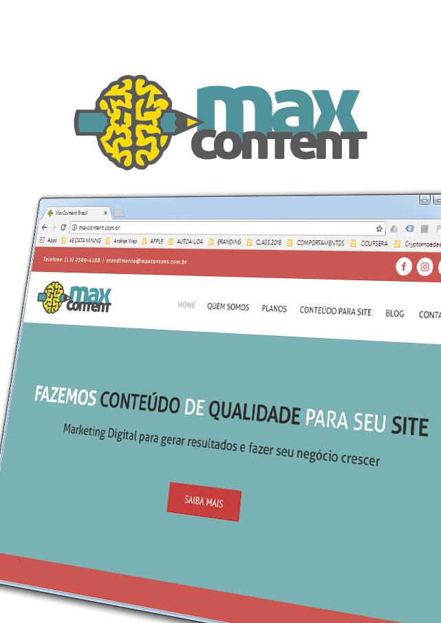 Max Content | Marca e Identidade