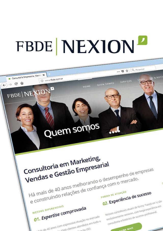 FBDE - Nexion | Marca e Identidade